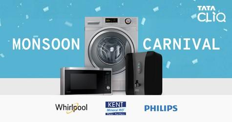 Monsoon Carnival : Upto 70% Off on Washing Machine, Water Purifier & More