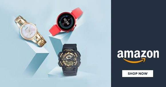 Best Deal : Flat 25% Off & Above @ Amazon's Watches Sale
