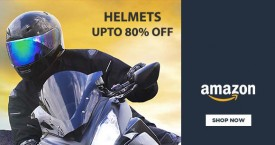 Amazon Special Offer : Upto 80% OFF on Helmets