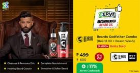 Beardo Super-Deal : Rs. 499 Only (Flat 17% Off) for Beardo Godfather Combo