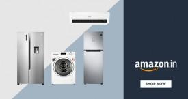 Amazon Upto 35% Off on AC, Refrigerators, Air Cooler etc.