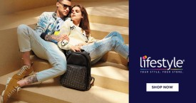Lifestyle Upto 50% OFF on Footwear & Bags