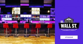 55 wall street bar & kitchen Whiskey & Wings at Rs 99 Each
