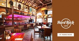Hard rock cafe Classic Rock Saturdays with DJ Vinay