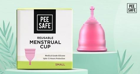 Peesafe Best Deal : Upto 50% OFF on Reusable Menstrual Cups
