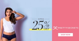 Prettysecrets Pretty Secrets Sale : Get Upto 25% OFF