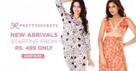 Prettysecrets Sleepwear Collection At Rs. 449 Onwards
