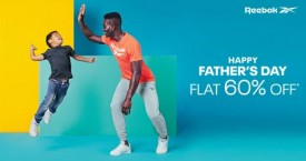 Reebok Father's Day : Flat 60% Off
