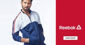 Reebok Up to 70% OFF on Apparels And Footwears