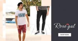 Rosegal Upto 50% OFF on Men's Clothing