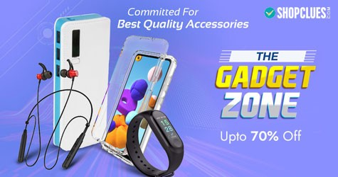 Shopclues The Gadget Zone : Upto 70% OFF