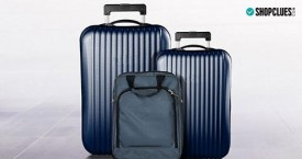 Shopclues Special Deal : Upto 80% OFF on Bags, Luggage & Men's Accessories