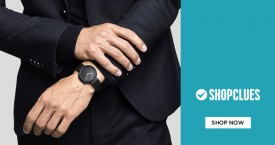 Shopclues Watch Carnival - Upto 85% Off on Budget Range Men's Watches.