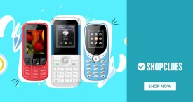 Shopclues Shopclues Offer : Feature Phones Starting From Rs. 299