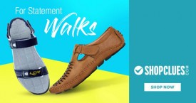 Shopclues Hot Deal : Men's Sandals & Loafers Starting From Rs. 299