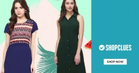 Shopclues Women's Clothing - 30% - 80% Off on Sarees, Kurtis, Dresses & More.
