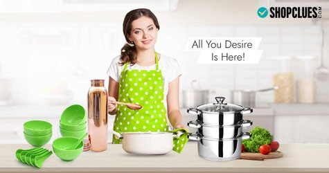 Shopclues Hot Deal : Upto 80% Off on Kitchen & Dining