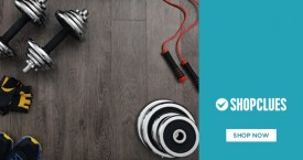 Shopclues Sports & Health Fitness Equipments Min 30% OFF