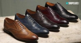 Shopclues Best Offer : Men's Formal Shoes Upto 75% OFF