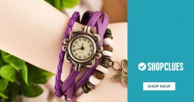 Shopclues Shopclues Grand Watch Mela: Upto 80% Off on All Brands.