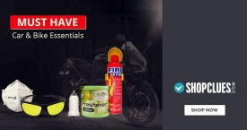 Shopclues Car & Bike Essentials Starting From Rs. 399 Only.
