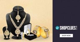 Shopclues 60% - 80% Off on Maha Jewellery.