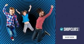 Shopclues Upto 80% Off on Best Kids Clothing.