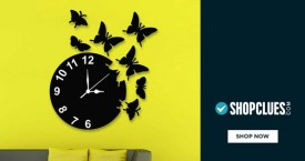 Shopclues Wall Clock Under Rs. 499 Only.