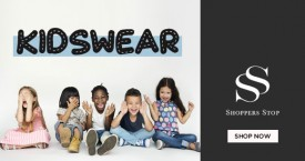Shoppers stop Upto 60% Off on Kidswear.
