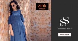 Shoppers stop Upto 30% Off on Zink London.