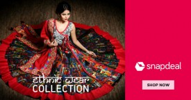 Snapdeal Upto 70% OFF on Women's Ethnic Wear