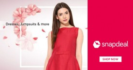 Snapdeal Best Price : Women's Dresses, Jumpsuits & More Starting From Rs. 799