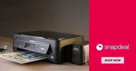 Snapdeal Upto 60% OFF on Printers