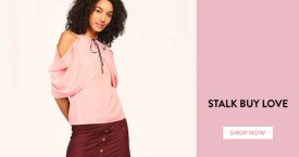 Stalkbuylove Flat 15% Off on Min. Purchase of Rs. 2499