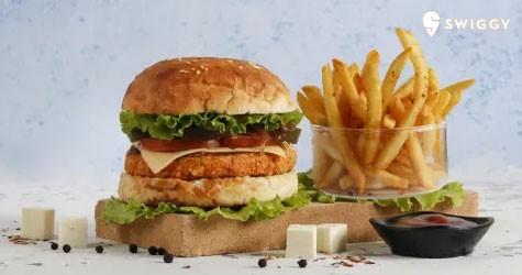 Swiggy Upto 50% Off on BurgerHaus Gourmet Burgers