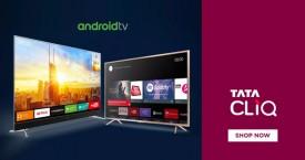 Tatacliq Best Offer : Android Smart Tvs Upto 55% Off