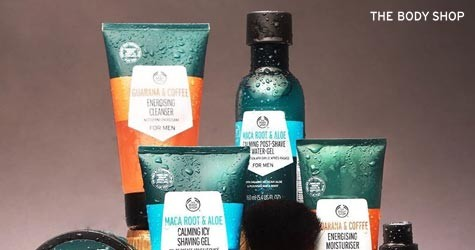 Thebodyshop Mega Deal : Men's Skincare Starting at Rs. 695