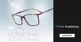 Titan eyeplus Titan Eyeplus Exclusive Deal : Frame + Lens Starting At Rs.890 + Upto 35% OFF on International Brand