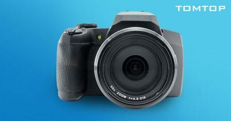 Tomtop Mega Deal : Upto 50% Off on  Cameras & Camcorders