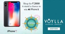 Voylla Maha Dhamaka Sale : Get Upto 70% OFF on Jewellery