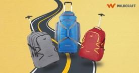 Wildcraft Best Offer : Upto 50% Off on Travel Gear Wheelers
