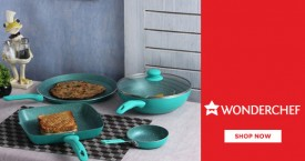 Wonderchef Cookware Offer: Upto 50% Off on Frying Pans, Cooktop, Grill Pans etc.