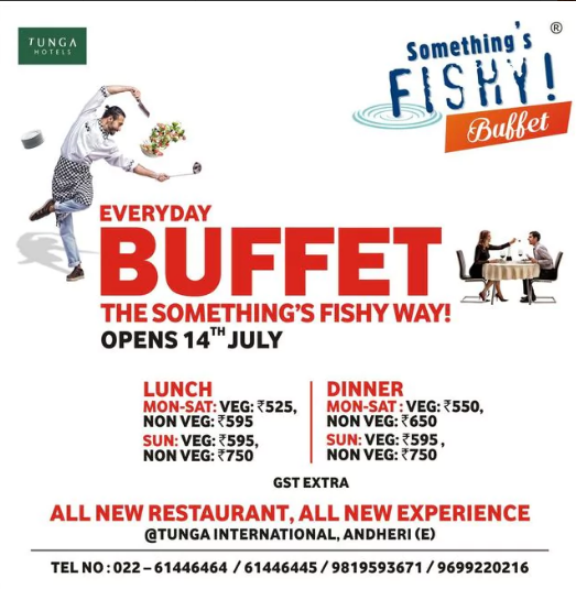 Sensational Special Offer Everyday Buffet Visit Somethings Fishy Now Interior Design Ideas Apansoteloinfo