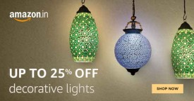 Amazon Best Deal : Upto 25% OFF on Decorative Lights Only At Amazon