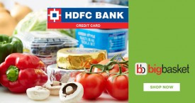 Bigbasket HDFC Bank Offer : Flat Rs. 200 OFF on Rs. 1000 (New User)