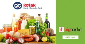 Bigbasket Kotak Bank Wednesday Offer : Flat 10% OFF