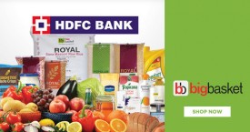 Bigbasket HDFC Credit Card Offer : Get 5X Reward Points
