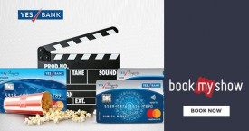Bookmyshow Yes Bank Offer : Get Upto Rs.150 OFF on Movies With YES Prosperity Credit Card