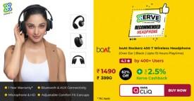 Tatacliq Super-Deal : Rs. 1490 Only for boAt Rockerz 450 T Wireless Headphone
