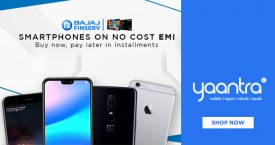 Yaantra No Cost EMI Sale : 0% EMI Cost on Smart Phones